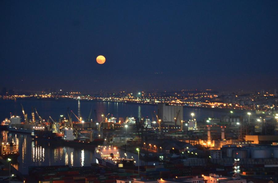 Ciel d'Alger, le 13 juin 2014.