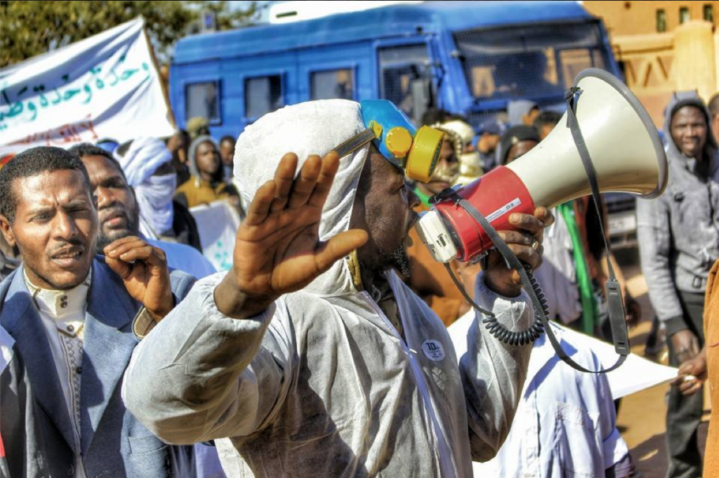 Manifestation à In Salah