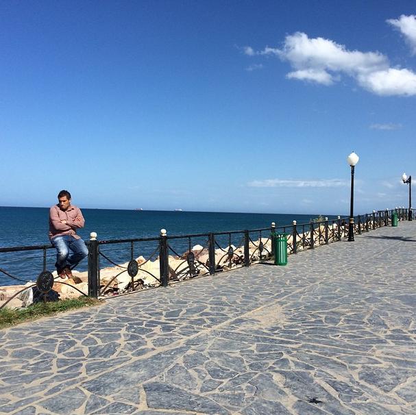 Annaba, bord de mer