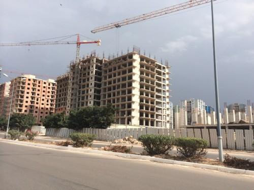 Construction à Oran